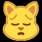 Weary Cat Face htc emoji