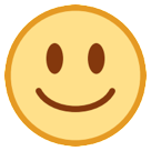 White Smiling Face htc emoji