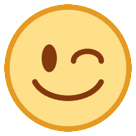 Winking Face htc emoji