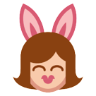 Woman With Bunny Ears htc emoji