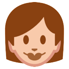 Woman htc emoji
