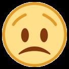 Worried Face htc emoji