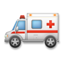 Ambulance lg emoji