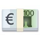 Banknote With Euro Sign lg emoji