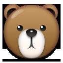 Bear Face lg emoji