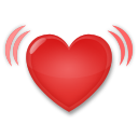 Beating Heart lg emoji