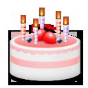 Birthday Cake lg emoji