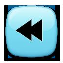 Black Left-pointing Double Triangle lg emoji