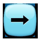 Black Rightwards Arrow lg emoji