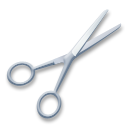 Black Scissors lg emoji