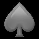 Black Spade Suit lg emoji
