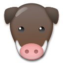 Boar lg emoji
