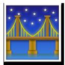 Bridge At Night lg emoji