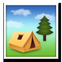 Camping lg emoji