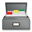 Card File Box lg emoji