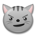 Cat Face With Wry Smile lg emoji