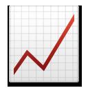 Chart With Upwards Trend lg emoji