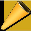 Cheering Megaphone lg emoji