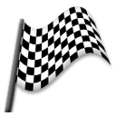 Chequered Flag lg emoji