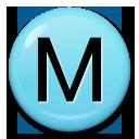 Circled Latin Capital Letter M lg emoji