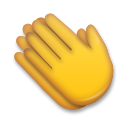Clapping Hands Sign lg emoji