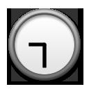 Clock Face Nine-thirty lg emoji