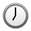 Clock Face Seven Oclock lg emoji