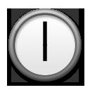 Clock Face Six Oclock lg emoji