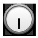Clock Face Six-thirty lg emoji