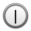 Clock Face Twelve-thirty lg emoji