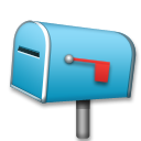 Closed Mailbox With Lowered Flag lg emoji