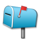 Closed Mailbox With Raised Flag lg emoji