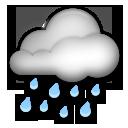 Cloud With Rain lg emoji