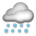 Cloud With Snow lg emoji