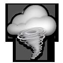 Cloud With Tornado lg emoji
