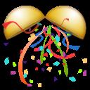 Confetti Ball lg emoji