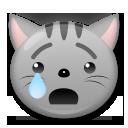Crying Cat Face lg emoji