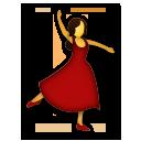Dancer lg emoji