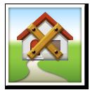 Derelict House Building lg emoji