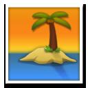 Desert Island lg emoji