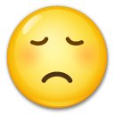Disappointed Face lg emoji