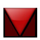Down-pointing Red Triangle lg emoji