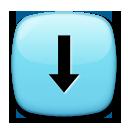 Downwards Black Arrow lg emoji