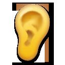 Ear lg emoji