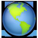 Earth Globe Americas lg emoji