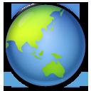 Earth Globe Asia-australia lg emoji