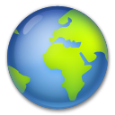Earth Globe Europe-africa lg emoji