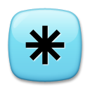 Eight Spoked Asterisk lg emoji