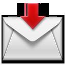 Envelope With Downwards Arrow Above lg emoji