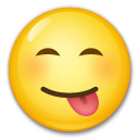 Face Savouring Delicious Food lg emoji
